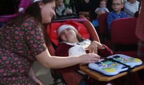 Spotkanie Mikołajkowe dla dzieci hospicyjnych